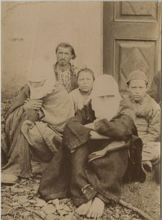 Yingce: Turkish family from Ottoman Empire, 1875s.
