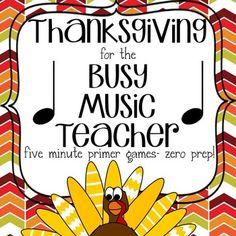 Thanksgiving Music Game Bundle Vol. four games, zero prep! Elementary Choir, Elementary Music Lessons, Piano Lessons, Preschool Music, Teaching Music, Music For Kids, Kids Songs, Music Classroom, Music Teachers