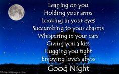Good Poems For Girlfriend Romantic Night