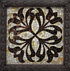 'Medallion'  Artist: Donna Van Hooser  ~  Beyond Borders: Mosaic Auction for DWB/MSF September 2012