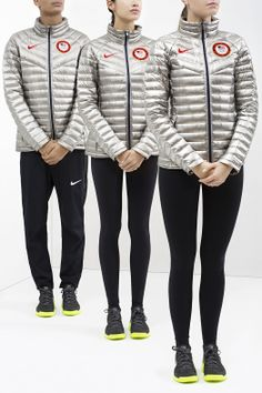 Nike Unveils Team USA Medal Stand Footwear and Apparel for Sochi 2014 Nike Outfits, Outfits 2014, Usa Olympics, Winter Olympics, Team Usa, Fashion Fail, Fashion 2014, Branding, Olympians
