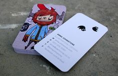 Business Cards BY:  Anna Johnstone