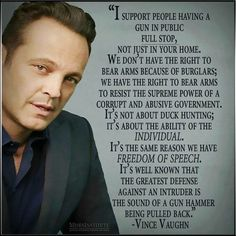 Vince Vaughn on 'The 2nd Amendment' // Right On!
