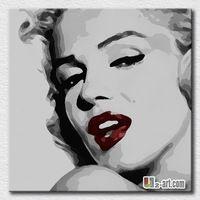 Gran lienzo pinturas al óleo del arte pop de Marilyn Monroe pintura al óleo para sala de estar decoración de pared imágenes regalo