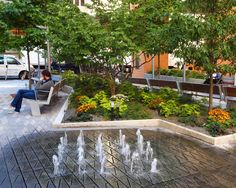 Privately Owned Public Space (POPS 40A?) Public Plaza, 8 Spruce Street - Beekman Tower