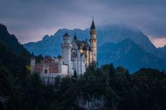 Neuschwanstein Castle - Bavaria - Germany (byRaico Bernardino... IFTTT Tumblr