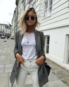 Herbst-Trend 2017: So stylst du den Karo-Blazer