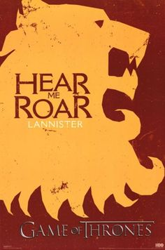 Game of Thrones - Lannister Sigil Poster Print (24 x 36)