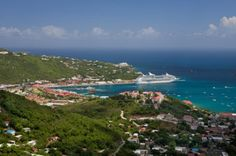Charlotte Amalie, St. Thomas... shopping and the Caribbean, what more could a girl ask for??