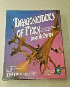 Dragonriders Of Pern Boardgame Mayfair Games 1983 Complete Box Set Rare EUC #Mayfair