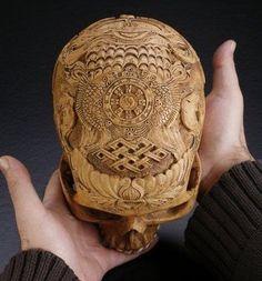 Kapala skull.