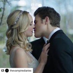 Wedding Photos Of Caroline & Stefan ~ TVD Episode 8×15 – Paul Wesley Chronicles