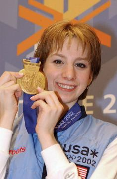Sarah Hughes - 2002 Olympic Figure Skating Champion ...  2002 Olympic Figure Skating Champion, Sarah Hughes, was not expected to win the gold medal at the 2002 Winter Olympic Games in Salt Lake City.