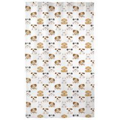 Puppy Dog Curtains Baby Nursery Kids Room Decor
