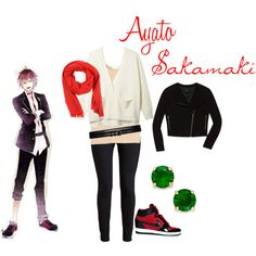 """Sakamaki Ayato Inspired Outfit, Diabolik Lovers"" by phsycometorzi on Polyvore"