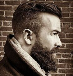 "grew into a man with the beard,"" Buoncristiano admitted. ""I grew into a man with the beard,"" Buoncristiano admitted. Great Beards, Awesome Beards, Bart Styles, Epic Beard, Full Beard, Beard Love, Man Beard, Perfect Beard, Beard Tattoo"