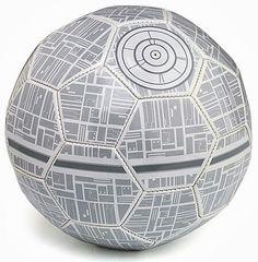 Limited edition Death Star soccer ball #StarWars