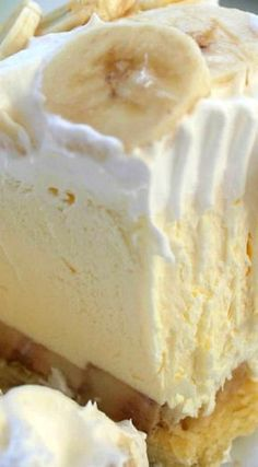 easy banana cream pie.