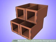 Image titled Make a Cardboard Box Storage System Step 3