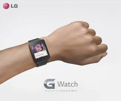 LG gives us a closer look at its Android Wear-powered G Watch.