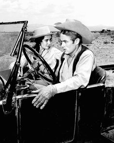 James Dean and Elizabeth Taylor.