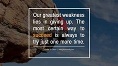 Happy Hump Day everyone!  At times it seems that giving up would be an easier thing to do.  Totally understandable.  This is not an easy venture even for the most seasoned of us.   But giving up isn't an option...  You have to keep grinding ahead. Keep focusing on your goals. Work on small steps & they'll add up to big victories.  If you quit you'll most certainly NEVER reach them.    Work it....Live it....OWN IT!!!!