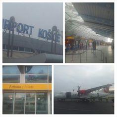 Ankunft am #Airport #Kosice. Mein Dank gillt der #CzechAitlines für die sichere Reise.