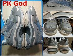 4503e4089 cheapest Balenciaga Triple S Trainer Gray PK God original sneakers release  date original 2018 outlet online