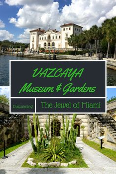 Vizcaya Museum and Gardens in Miami Florida is a National Historic Landmark located on Biscayne Bay. A must visit trip with or without the kids and family. Miami Gardens, Beautiful Gardens, Beautiful Interiors, Italian Style, Italian Villa, Travel Inspiration, Travel Destinations, Places To Go, Around The Worlds