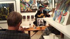 Pedro Oyarzo's koncert i iLVIG Silkeborg 30.11.2015