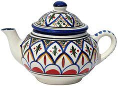 Le Souk Ceramique Tabarka Design Teapot -