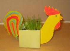 Pääsiäisruoho maitopurkista ja pahvista! Why Try, Classroom Projects, Easter Crafts, Planting, Grass, Craft, Kunst, Plants, Grasses