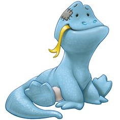 Denzil the chilled Komodo Dragon wh's calm in any crisis... wheh the heat is on, Denzil always stay cool.