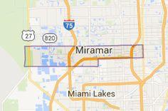 Map Of Miramar Florida.31 Best Broward County City Maps Images Broward County Florida