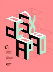 Typografie/Design via graphic design layout, identity systems and great type lock-ups. Layout Design, Graphisches Design, Graphic Design Layouts, Graphic Design Posters, Graphic Design Typography, Graphic Design Illustration, Typo Design, Japanese Typography, 3d Typography