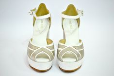 Modelo Stripe: Zapatos de Novia Connie Zilber Chile