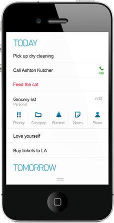 any.do - cross-platform to-do app with beautifully minimalist UX