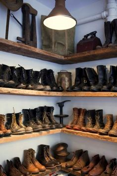 Mens Shoe Closet my future shoe closet, minus the men's shoes and filled with