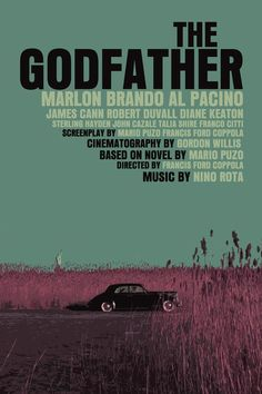 THE GODFATHER // Amer. crime film by Francis Ford Coppola, 1972.