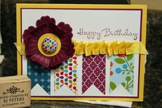 Summer Smooches, Stampin' Up!  Mixed Bunch stamp set