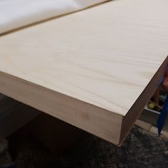 Ash veneer on the long section of the desk top hot out of the vacuum press. Long A, Ash, Vacuums, Instagram, Grey, Vacuum Cleaners
