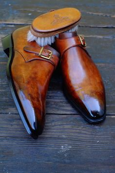 dandyshoecare: Corthay by Dandy Shoe Care Dream Shoes, Crazy Shoes, Best Shoes For Men, Stylish Shoes For Men, Shoes Men, Derby, Gents Shoes, Mens Suede Boots, Cordovan Shoes