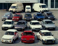 1984 Renault models