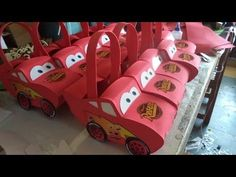 COMO HACER DULCERO FOMI CARS DIY - HOW TO MAKE CARS - YouTube