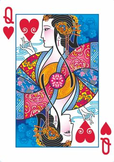Joanne Lin is raising funds for Bicycle® Emperor Playing Cards by USPCC on Kickstarter! A playing card deck with art inspired by ancient Chinese legends. Intricate, custom designs never seen before. Cool Playing Cards, Hearts Playing Cards, Custom Playing Cards, Playing Card Design, Vintage Playing Cards, Deck Of Cards, Card Deck, Art Graphique, Chinese Art