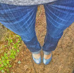 My Paradise Blues Tieks Ballet Flats, Tieks Shoes, Capsule Wardrobe, Paradise, Blues, Capri Pants, My Style, Fashion, Moda