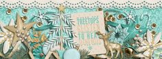 Facebook Timeline cover created with the collaboration kit Treetops Glisten by Digilicious Designs by Christine Mortimer and Megan Mullhens