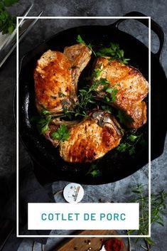 Cotlet de porc fraged și aromat, facut rapid la tigaie si la cuptor. Tandoori Chicken, Meat, Ethnic Recipes, Christmas, Pork, Natal, Xmas, Weihnachten, Yule