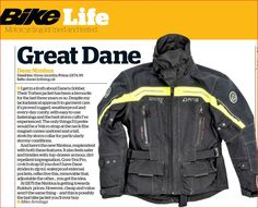 Great review on the Dane Nimbus All Weather Motorcycle Jacket. Forget the rest and get the best! Check this out at www.moto65.co.uk Sign up to our mailing list and get 10% discount + free delivery!