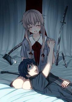 The Wallpaper Of Anime - Mirai Nikki